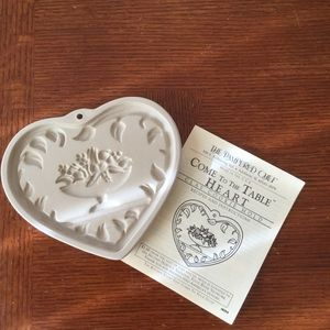Pampered Chef Heart Cookie Mold